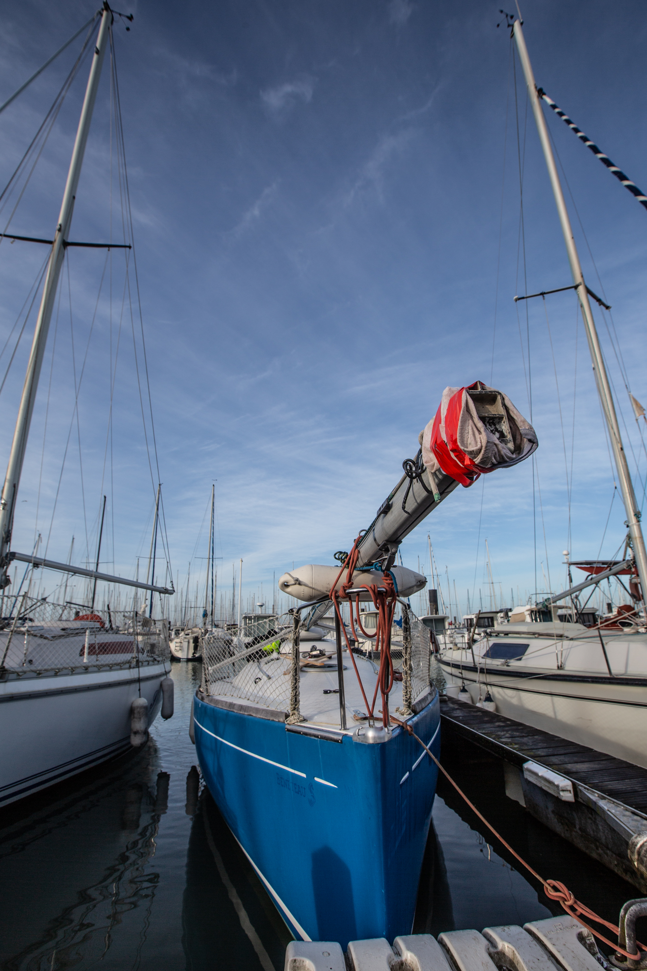 voilier dematage First 210 Per'Peinard les minimes