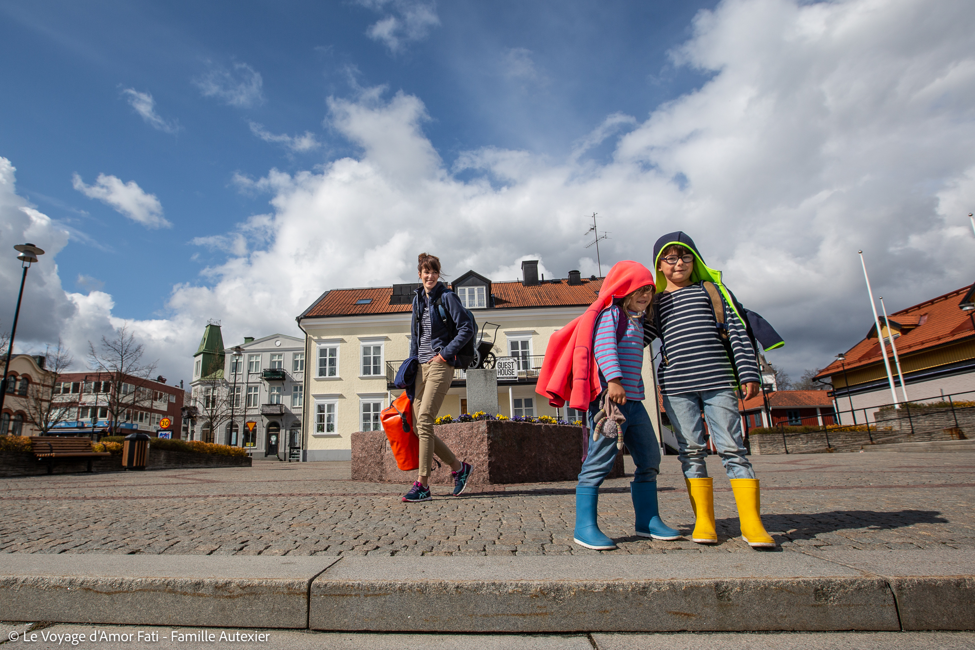 GuestHouse Västervik Suède Voyage Amor Fati Famille Autexier