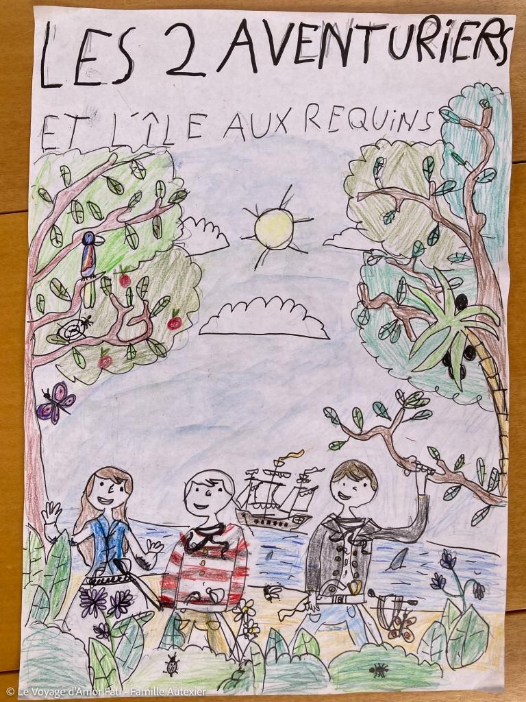 """Nouvelle couverture """"Des Aventuriers"""" par Ti'Paul"""