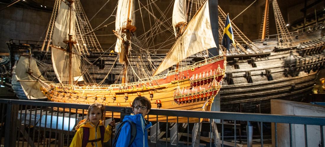 Voyage Amor Fati maxus 24 mer baltique visite Musée Vasa